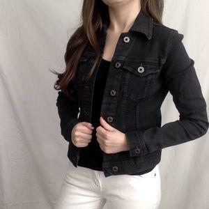 AG Black Denim Jacket #178